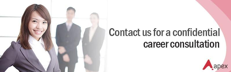 Contact Us for a confidential career consultation